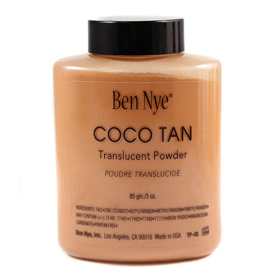 Ben Nye Classic Translucent Face Powder Coco Tan