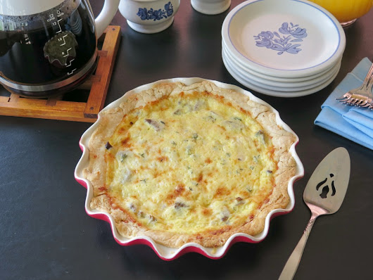 Beef and Cheese Quiche