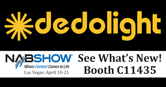 See What's New from Dedolight This Year at NAB
