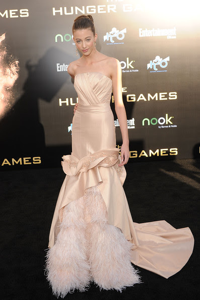 Kalia Prescott Actress Kalia Prescott arrives at the premiere of Lionsgate's 'The Hunger Games' at Nokia Theatre L.A. Live on March 12, 2012 in Los Angeles, California.