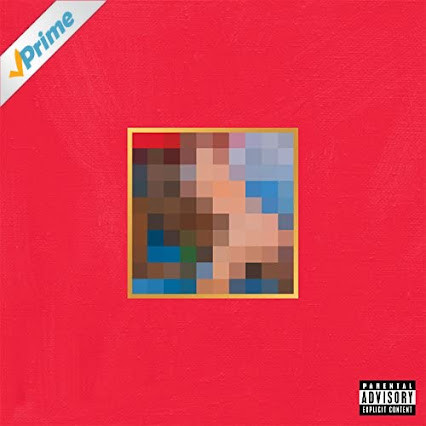 My Beautiful Dark Twisted Fantasy Original Cover