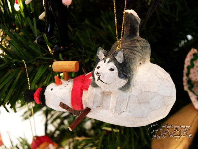 DSCN4701e Husky/Snowman ornament