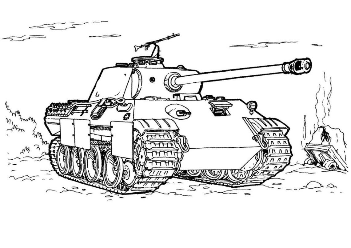 Panzer Malvorlagen und Ausmalbilder für Kinder zum Ausmalen und Ausdrucken kostenlos ausmalbilder panzer kostenlos