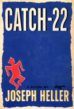 The cover of Joseph Hellers novel Catch-22