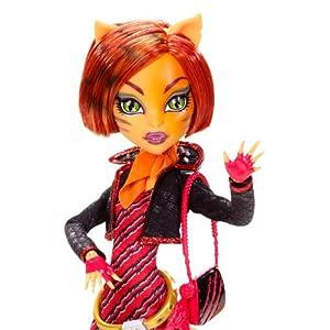 Mattel Monster High Toralei Stripe Doll with Pet Sweet Fang