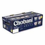 Chobani Greek Yogurt Variety Pack, Assorted Flavors, 5.3 Oz Cup, 16 Cups/Box