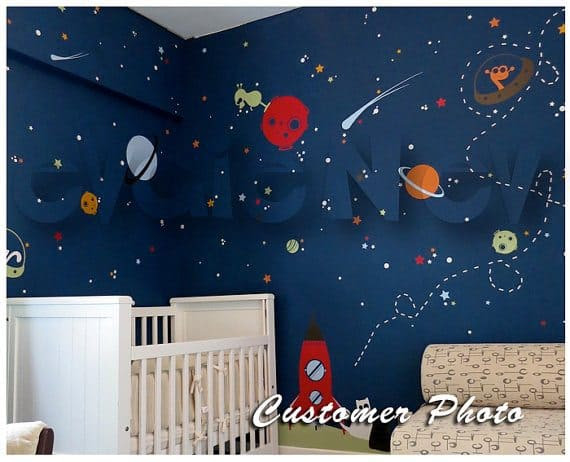 Win A $150 Evgie Wall Decals Gift Card + Easily Decorate Your Walls space