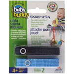 Baby Buddy Secure A Toy Tether, Navy/Blue