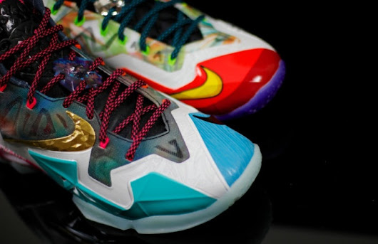"A visual expliration of all the parts that bring the LeBron XI ""What The"" together."