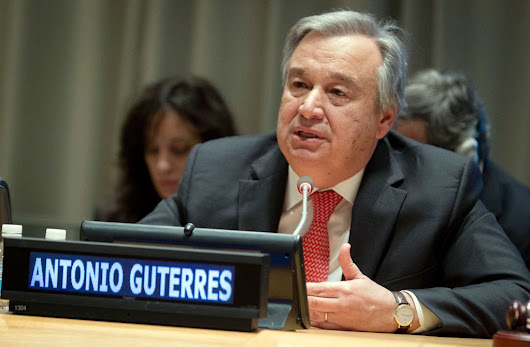 António Guterres is the next United Nations Secretary General