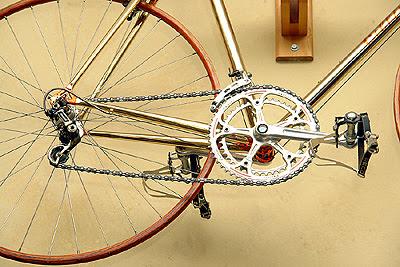 Drivetrain of Cellini bike