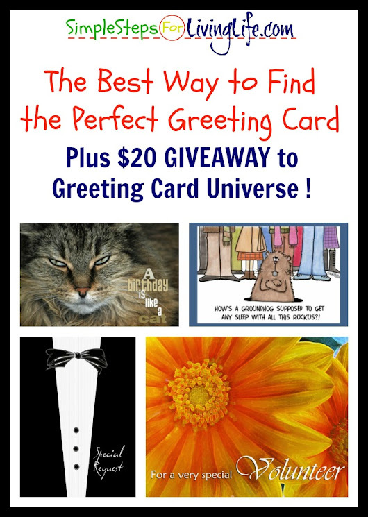 The Best Way to Find the Perfect Greeting Card – PLUS Giveaway! | SimpleStepsForLivingLife