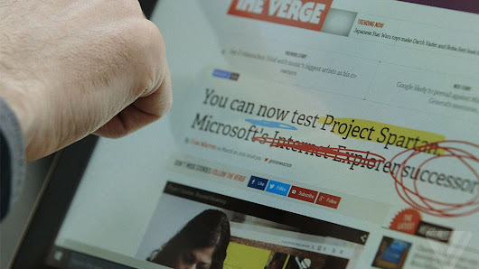 A closer look at Project Spartan, Microsoft's Internet Explorer killer