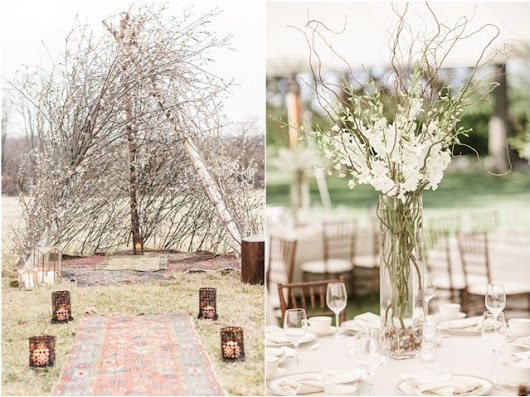 30 Rustic Twigs and Branches Wedding Ideas