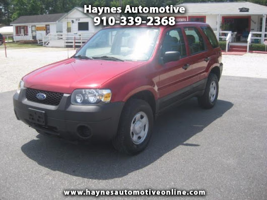 Used 2006 Ford Escape XLS 2WD for Sale in Fayetteville NC 28303 Haynes Automotive