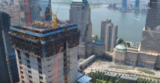 {Timelapse] 8 Years of Construction on the 3 World Trade Center