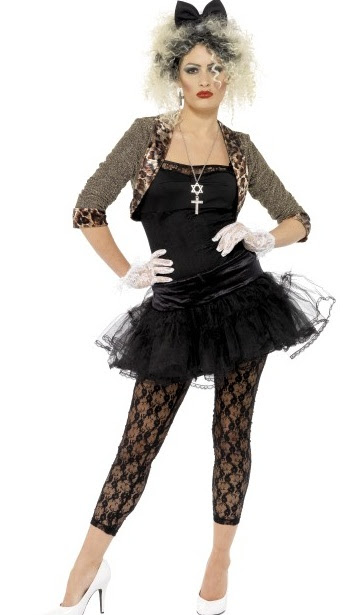 80 s pop star madonna costume plus size 80's madonna