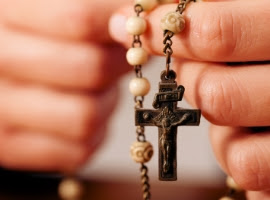 Image result for Praying the Rosary, Images