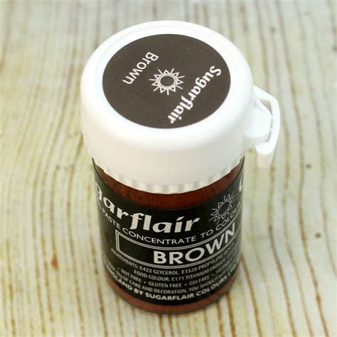 Sugarflair Pastel Brown Food Colouring
