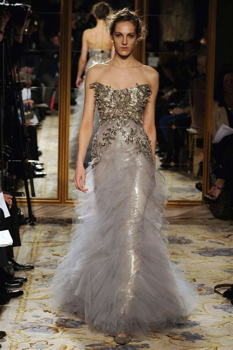 Stunning Marchesa gown, Look 22   Wedding Dresses   Color