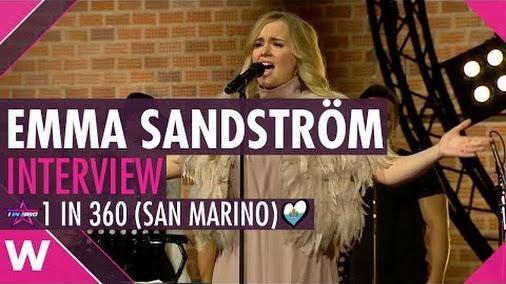 Emma Sandström | 1 in 360 Finalist San Marino (Interview)