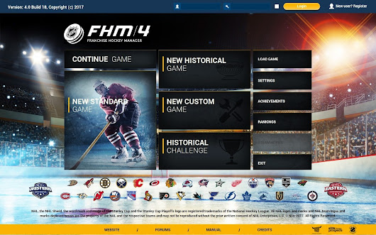 Details emerge of the new Franchise Hockey Manager FHM 4 (PC, Mac) - GM Games - Sports General Manager Video Games