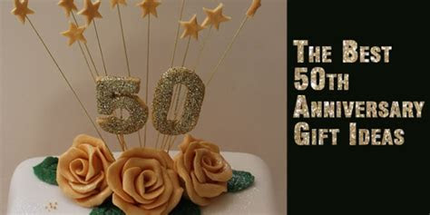 The best 50th anniversary gift ideas   Unusual Gifts