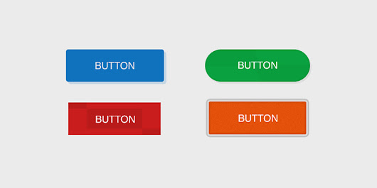 Toolinfy - 4 cool button Photoshop templates