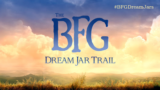 The BFG Dream Jar Trail: 8 July – 31 August