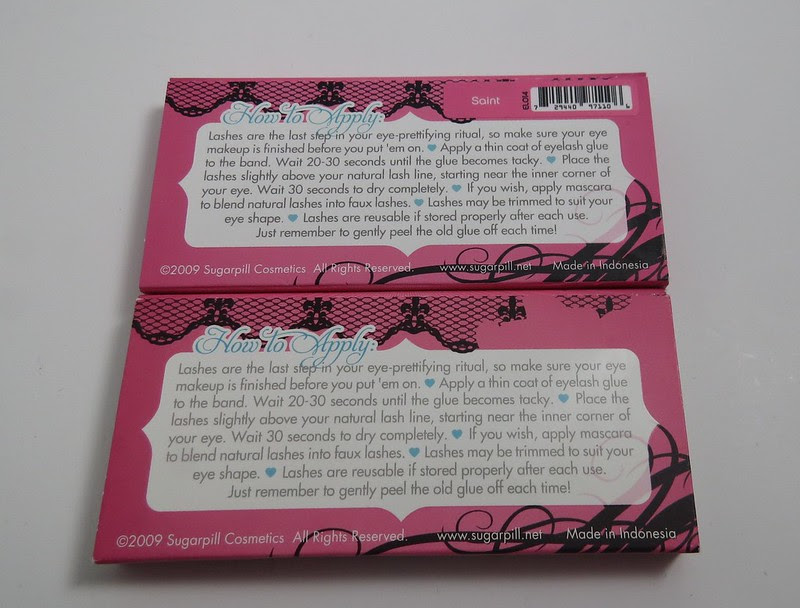 Sugarpill Cosmetics Lash Boxes