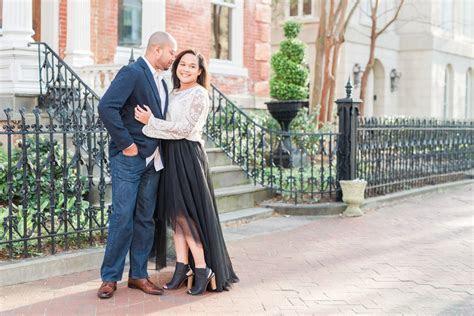 Downtown Norfolk Freemason Engagements   Virginia Wedding