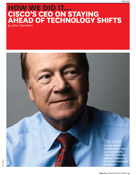 John Chambers - Harvard Business Review