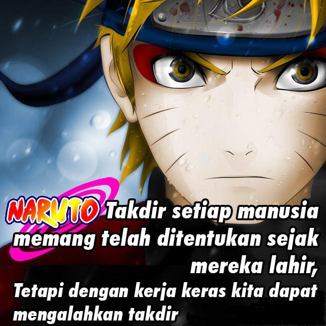 Kumpulan Gambar Kata Kutipan Dp Bbm Naruto Keren