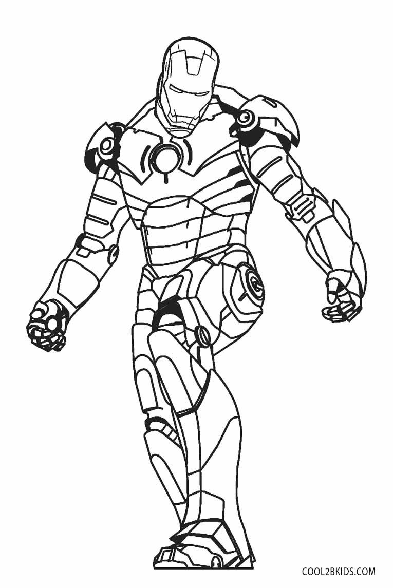 Colouring Pages Iron Man 10   coloringpages10
