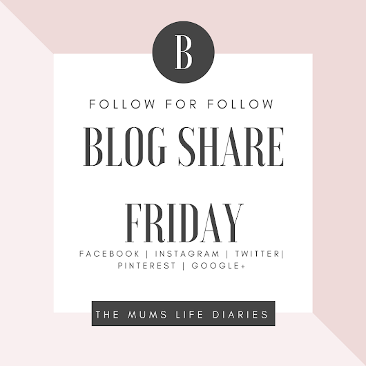 Friday Follow For Follow Blog Share