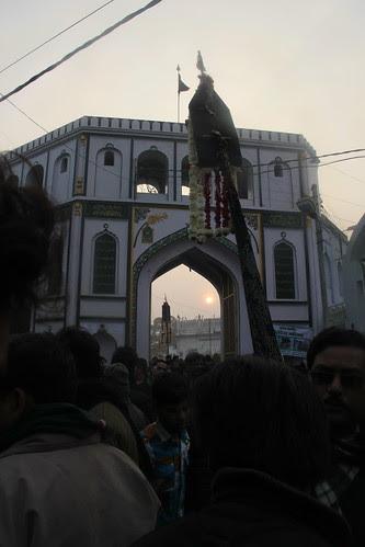 I Enter Talkatora Burial Grounds Chehlum Lucknow 2013 by firoze shakir photographerno1