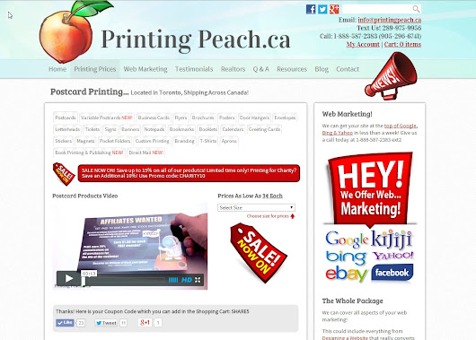 Printing and Web Marketing under One Roof!