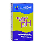 Alkazone Alkaline Booster Drops With Antioxidant - 1.25 Oz