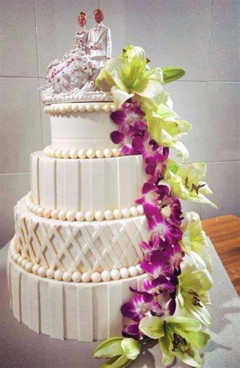 How much does a wedding cake typically cost?   Quora