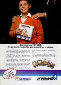 Publicidad Videojuegos Spinnaker - Idealogic