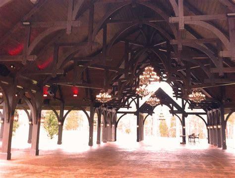 Dale Earnhardt Venues Pavilion   Heavy wood timber