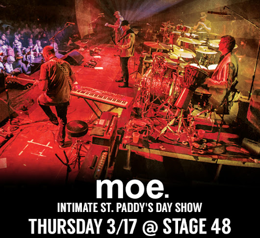 Win (2) Tickets To Intimate moe. Performance In NYC + Signed Poster
