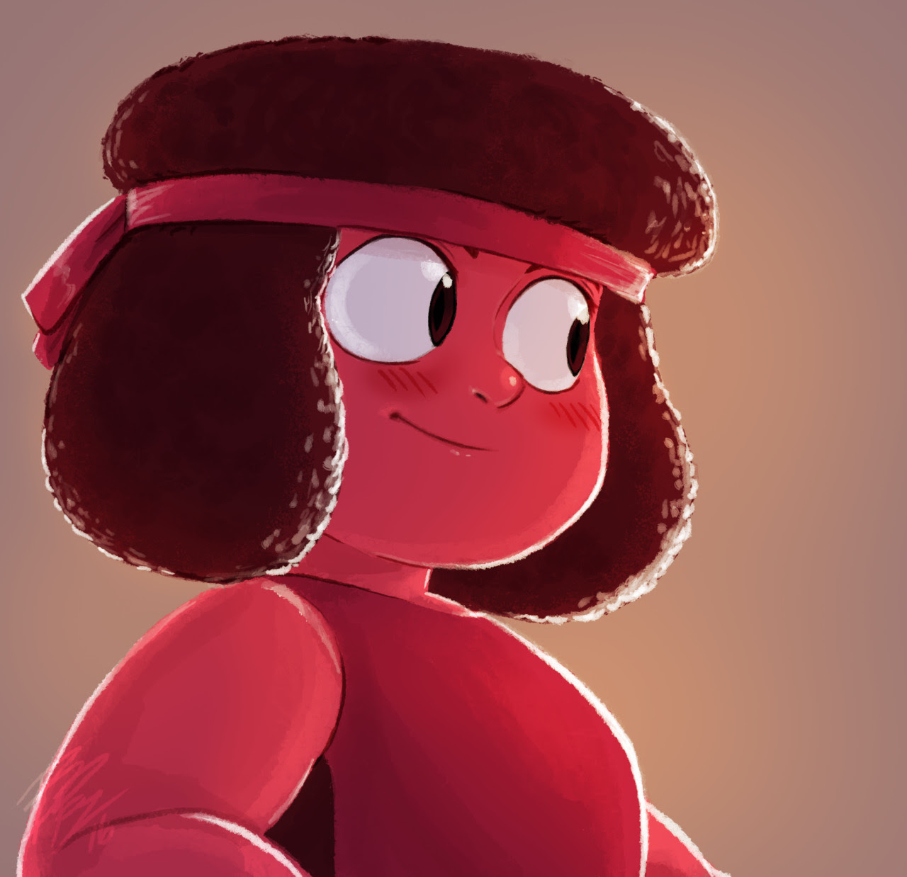 Wanted to post these before the new year. Started with a Sapphire doodle and then I couldn't draw Sapphire without also drawing Ruby… and then also Garnet….