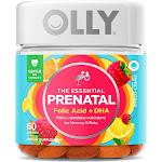 Olly Essential Prenatal Multivitamin Vibrant Dietary Supplement Gummies - Citrus - 60ct