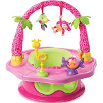 Summer Infant SuperSeat 3-in-1 Deluxe Island Giggles, Pink