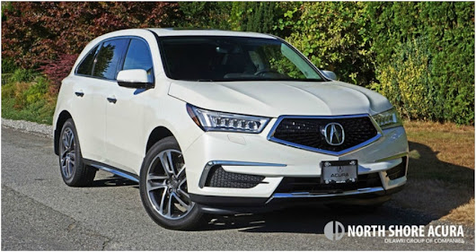 2017 Acura MDX Road Test Review at North Shore Acura