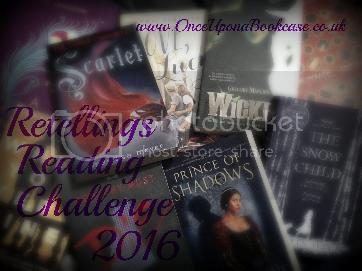 Retellings Reading Challenge 2016