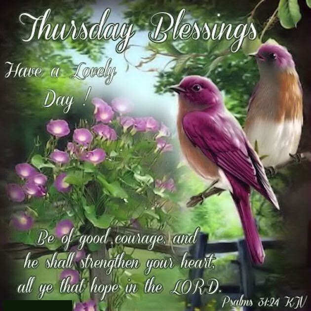 Thursday Blessings Have A Great Day Quote Pictures Photos And
