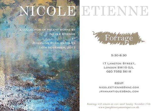 Nicole etienne exhibition