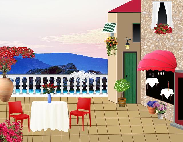 Restaurant Terrace  C2 B7 Free Image On Pixabay